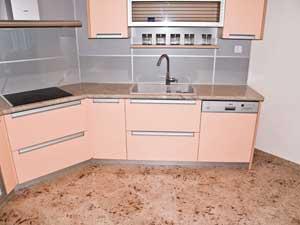 Marmorni pulti in tla v kuihinji 2